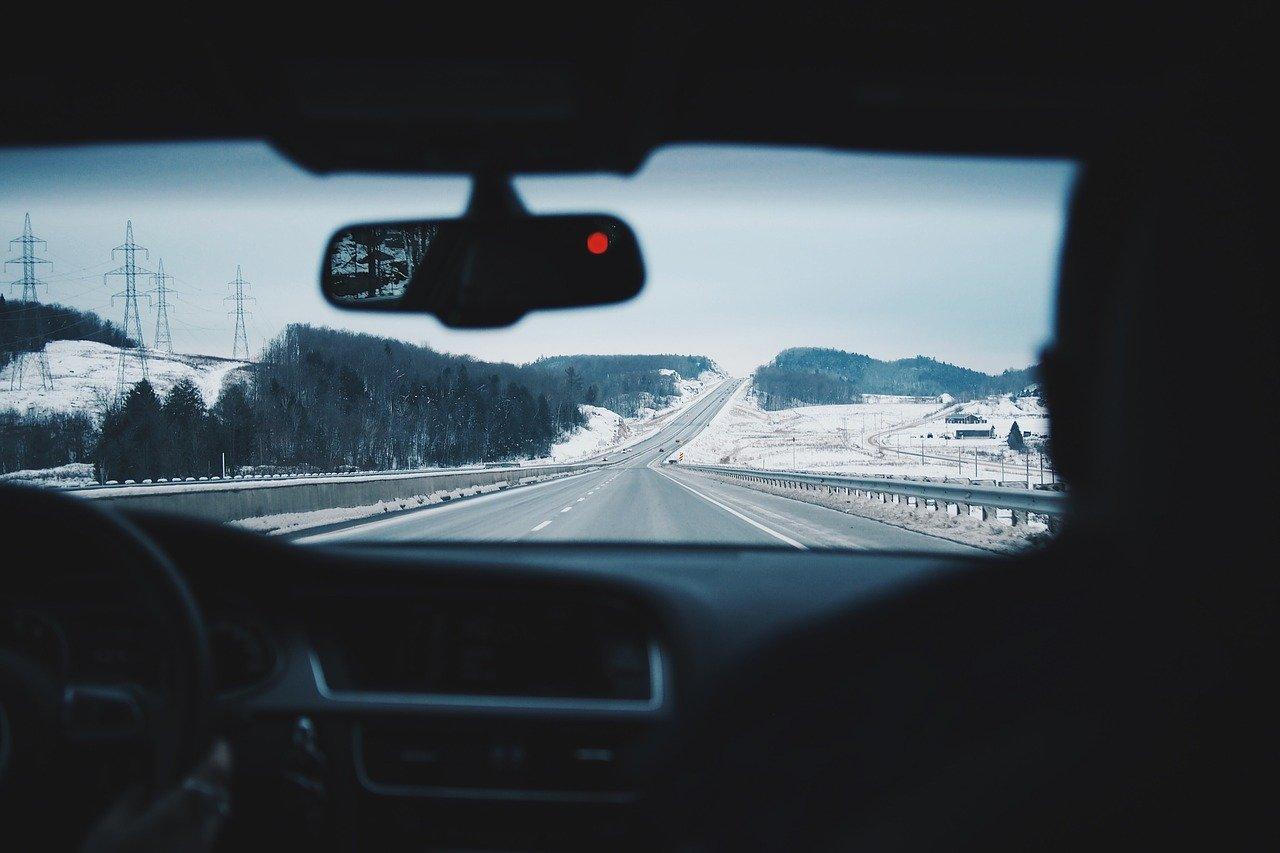 Zima - samochód